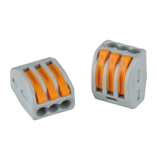 Sonstige 46544 Verbindungsklemme 3-polig, 8-4 mm² Wago, 15 Stück
