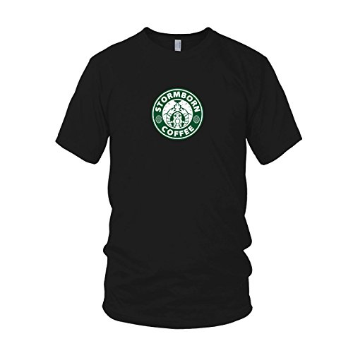 GoT: Stormborn Coffee - Herren T-Shirt, Größe: L, Farbe: (Tasse Kostüm Starbucks)