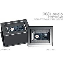 CAJAS FUERTES SERIE SUELO 9081 EASD ref. 13031 MEDIDAS: 32cm ANCHO X 25cm ALTO X 29cm PROFUNDIDAD