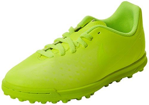 Nike Magistax Ola Ii Tf, Scarpe da Calcio Unisex – Bambini Giallo (Volt/volt-barely Volt-electric Green)