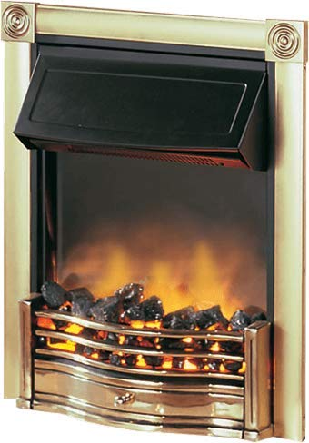 413NYRvsoiL - Dimplex Horton Brass Inset Electric Fire