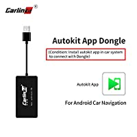 ‏‪Carlinkit Wireless USB Carplay Dongle Adapter with Android Auto Carplay Navigation Mirroring for Android Head Unit Bluetooth‬‏