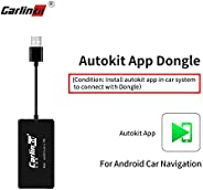 Carlinkit Wireless USB Carplay Dongle Adapter with Android Auto Carplay Navigation Mirroring for Android Head