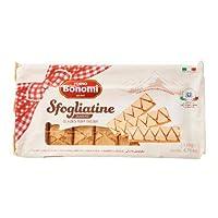 Forno Bonomi Sfogliatine Glassate, Glazed Puff Pastry 135gm