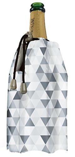 Vacu Vin 38852606 Aktiv Champagnerkühler Diamant grau