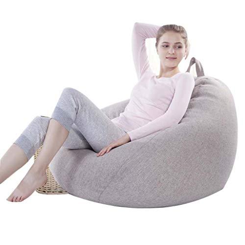 Lazy Couch Sitzsack Single Sofa Schlafzimmer Wohnzimmer Balkon Kleine Wohnung Stuhl - Importierte Epp-Polsterung - Zarte Samt BettwäSche - Abnehmbar - Importierte Bettwäsche
