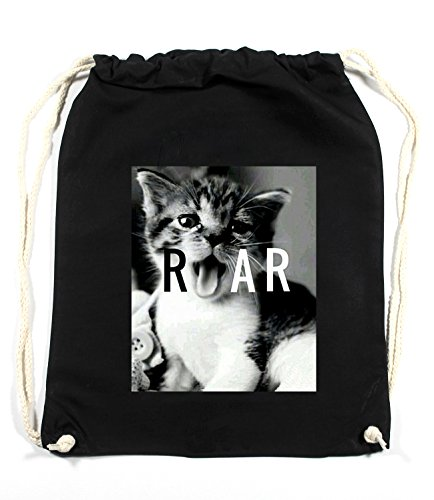 Pussy Roar Sac De Gym Noir Certified Freak