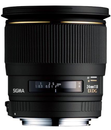 Great Buy for Sigma 24mm f/1.8 EX DG ASP Macro Lens – Nikon on Amazon