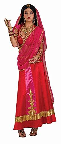 Damen Kostüm Bollywood Beauty Inderin zu Karneval Fasching (Bollywood Kostüm)