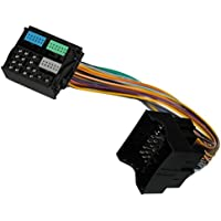 AERZETIX: Adaptador extension cable enchufe ISO para autoradio Quadlock C10929