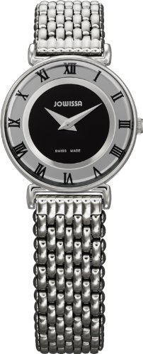 Jowissa J2.007.S - Reloj analógico de Cuarzo para Mujer con Correa de Acero Inoxidable, Color Plateado