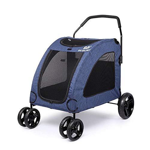 Dixinla Haustier Kinderwagen Kat KatRiese Dog Cart und Alten Hund Reisen Warenkorb -