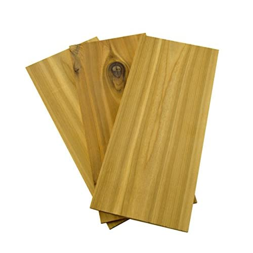 413NexGU1KL. SS500  - Charcoal Companion Cedar Grilling Plank CC6021, Wood, 14x30x3.81 cm