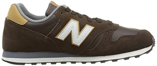 New Balance NBML373BSO Sneaker, Unisex Brown
