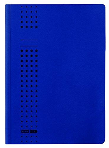 ELBA 100091170 Einschlag-Mappe chic 25er Pack dunkelblau mit 3 Innenklappen DIN A4 ideal fürs Büro, die Schule und die mobile Organisation