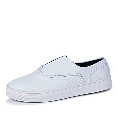 Una pedal Board estate moda tempo libero scarpe/Confortevole e traspirante semplice scarpe Bianco