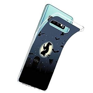 Oihxse Compatible con Samsung Galaxy S10E/Galaxy S10 Lite Funda Silicona Transparente Suave Gel TPU Carcasa Ultra…