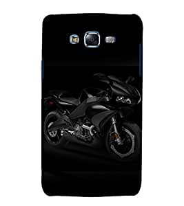 printtech Superfast Bike Back Case Cover for Samsung Galaxy Grand Prime G530h
