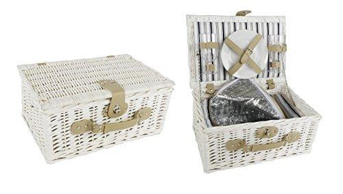 Picknickkorb aus Weide Verpackung 1 ST