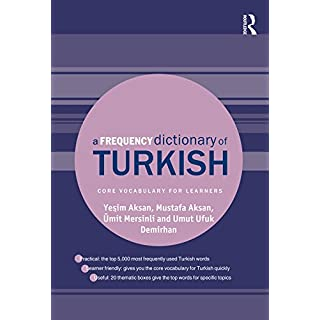 A Frequency Dictionary of Turkish (Routledge Frequency Dictionaries) (English Edition)