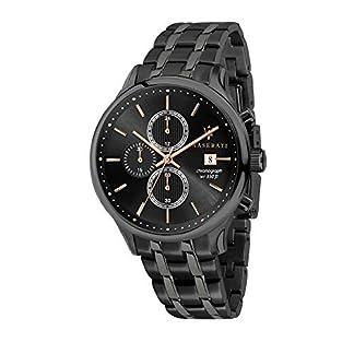 Reloj para Hombre, Colección Gentleman, con Movimiento de Cuarzo y función cronógrafo, en Acero y pvd Gris – R8873636003