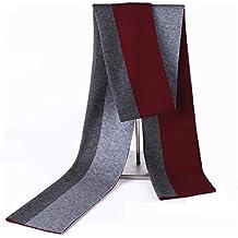 84b7fb8e4b2 MINMINA Laine écharpe Hiver Nouvelle écharpe en Laine coréenne écharpe  épaississement Occasionnel Couture écharpe de Mode