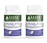 AADAR YuvaFit Natural Weight Management and Fitness Capsules with Garcinia, Cambogia, Triphala