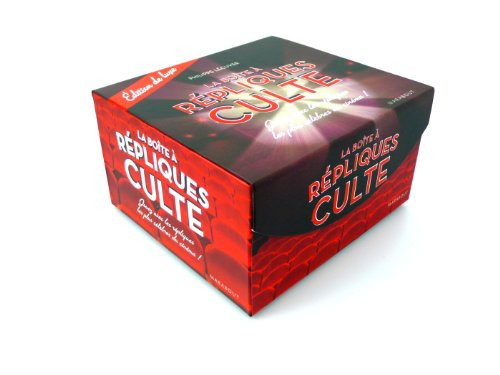 La boîte à repliques culte