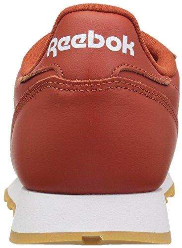 Reebok-Mens-Classic-Leather-Walking-Shoe-fg-Burnt-AmberWhiteGum-65-M-US