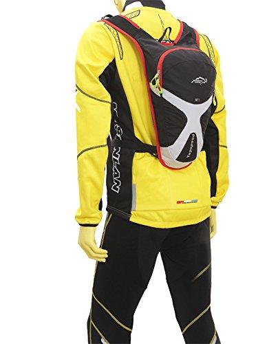West Biking® Doppelter Schultergurt Rucksack Tasche 5L Kapazität–Wasser beständig verwendet Hydration Packungen Tag Packungen Radfahren Commuter Rucksack Dunkelblau