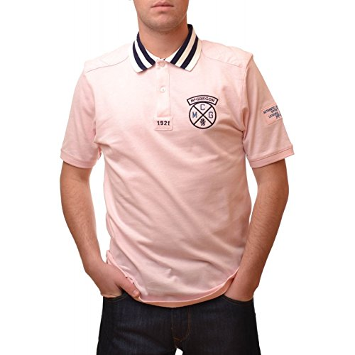 McGregor-Polo McGregor Rosa Ryan Knock da uomo rosa X-Large