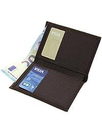 Fashiongen - Porte cartes en cuir SAWSAN