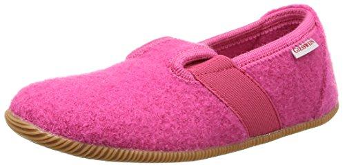 Giesswein Weidach, Mädchen Flache Hausschuhe, Pink (himbeer/364), 25 EU (Schuhe Himbeer-flache)
