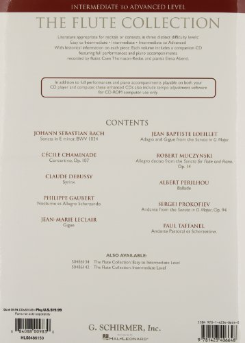 The Flûte Collection (G. Schirmer Instrumental Library)