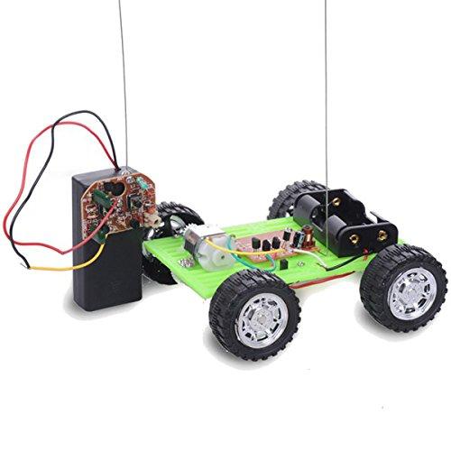 Faway Heimwerker-Fernbedienung, 2-Wege-Montage-Modell, Spielzeug Roboter, Grün (Roboter Bausatz Fernbedienung)