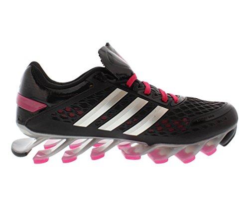 Adidas Springblade Razor Damen Laufschuhe Grö�e Us 6, Regular Breite, Farbe schwarz / silber / pin Black