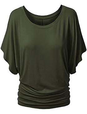 Las Mujeres Camiseta De Manga Corta Tops T-shirt Remata La Camisa Blusa