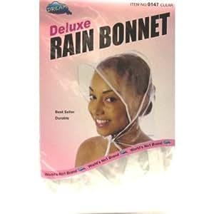 Dream Bonnet de pluie en plastique #0147 (Lot de 12)