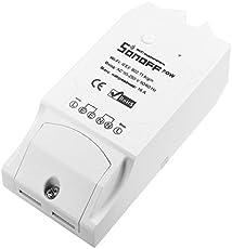 HEANTTV smart schalter mit Power Statistics, Wireless Schalter für Licht, WiFi Schalter für Lüfter, remote schalte über iPhone, DIY Timer Schalter, 16A sonoff Pow Lichtschalter