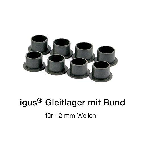 igus ® Gleitlager mit Bund- iglidur® GFM (12 mm)