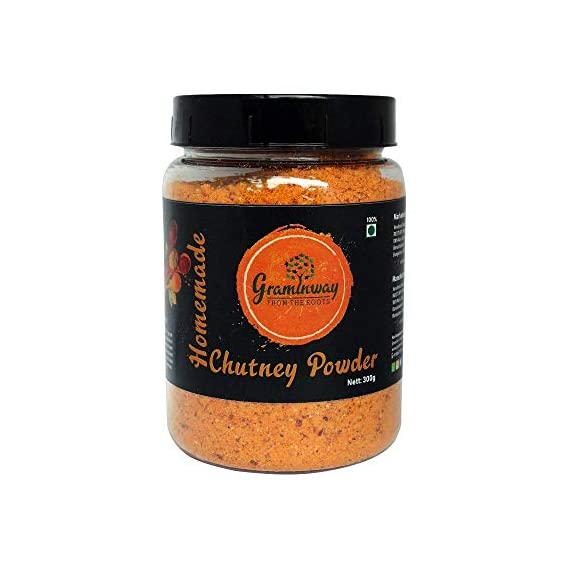 Graminway Homemade Chutney Powder | Organic Homemade Powdered Spices Indian Masala for Healthy Cooking (200 gm) (Pack of 1)