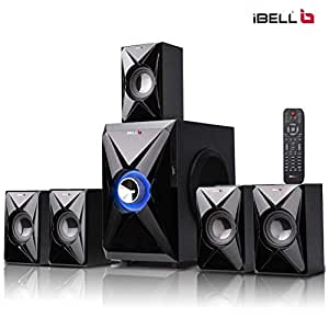 iBELL IBL2042DLX 5.1 Home Theater Speaker System Multimedia with Bluetooth Connectivity