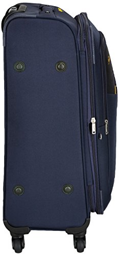 Skybags Footloose Rubik Polyester 68 cms Blue Softsided Suitcase (STRUW68EBLU)