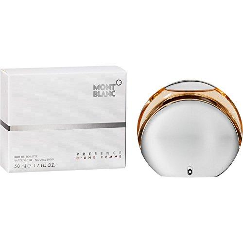 Mont Blanc Presence Parfum Femme Eau de Toilette en flacon vaporisateur pour femme 50 ml