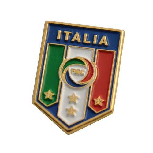 FIGC ITALIA MAGNETE UFFICIALE IN METALLO NAZIONALE ITALIANA - FIGC ITALIA OFFICIAL MAGNET IN METAL