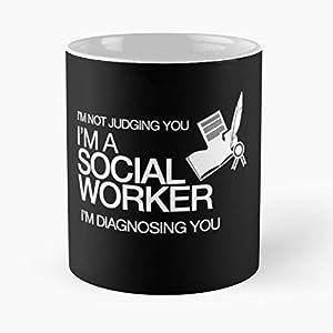 Social Workers Birthday Gifts Mug Coffee Mugs For Cup Women Tumbler - Best 11 Ounce Ceramic Coffee Mug Gift