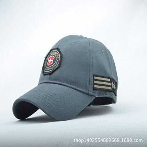 sdssup Herrenmütze männliche Hüte weiblicher Sommer Zustrom von Sommer im Freien Schatten von grau