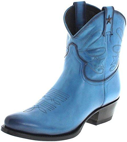 Stivali Mayura 2374 Stivaletti Azul Fashion Per Donna Blu Azul