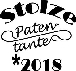 Mister Merchandise Ladies Damen Frauen T-Shirt Stolze Patentante 2018 Tee Mädchen bedruckt Pink