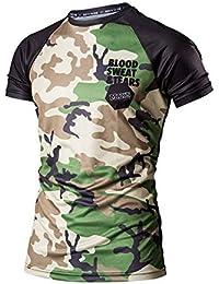 d9d9a9595 Tinxyer Camiseta 3d Camiseta 3D Camuflaje Ropa para Hombres Culturismo Moda  Verano Camiseta Masculina Blusa para Hombre Ropa…